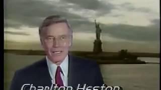 ABC Liberty Weekend 1986 - Peter Jennings and Charlton Heston