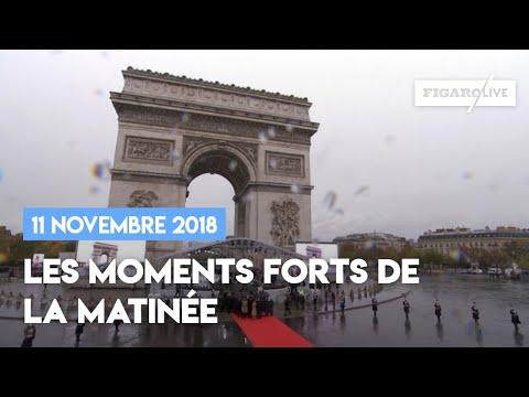11 novembre 2018 : les moments forts de la matinée