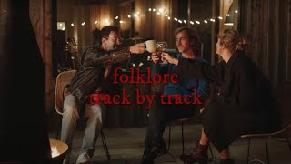 Folklore Track by Track Description by Taylor Swift