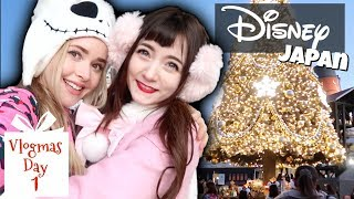 What Tokyo's DISNEY SEA is Like at Christmas   Vlogmas Day 1