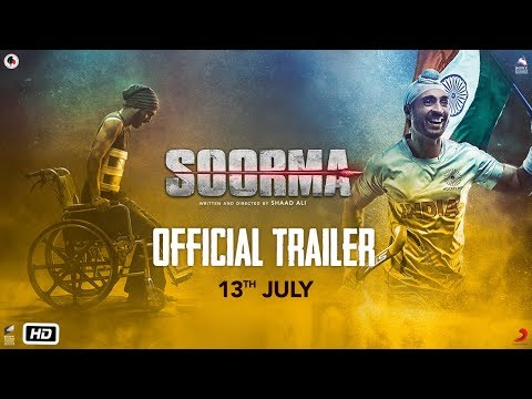 Soorma - Official Trailer - Diljit Dosanjh - Taapsee Pannu - Angad Bedi