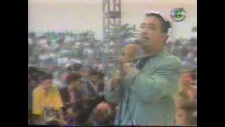 Concert live de Cheb Hasni à Alger en juillet 1993