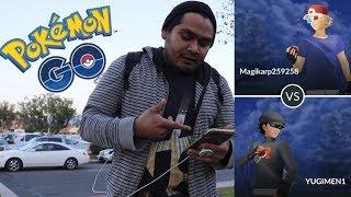 My first PvP Battle in Pokemon GO!