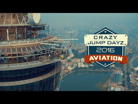AJ Hackett Macau Tower Crazy Jump Day 2016