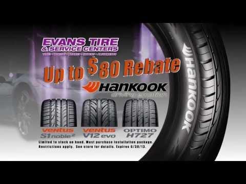 Evans Tire - Hankook Tire Special - April 2013