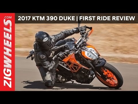 2017 KTM 390 Duke: First Ride Review