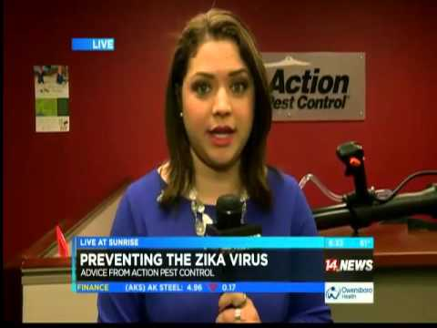 Action Pest Control Talks Mosquitos and  Zika