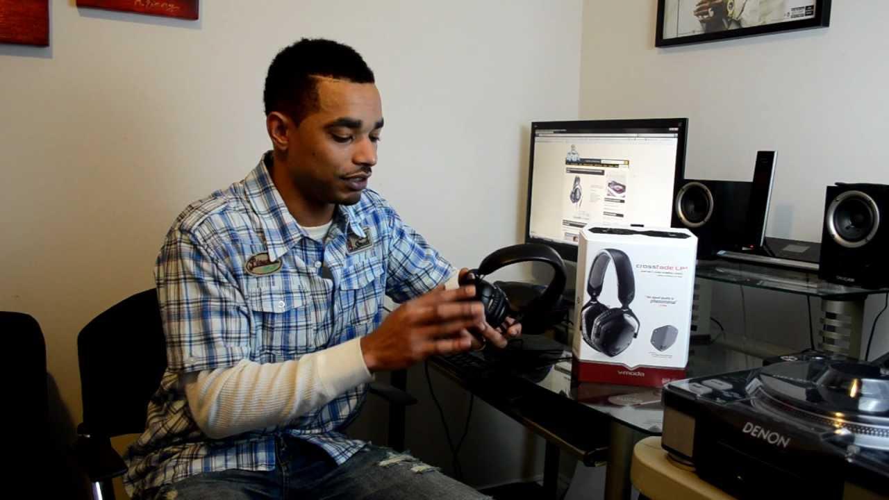 v moda crossfade lp2 limited edition matte black professional dj headphones video review youtube. Black Bedroom Furniture Sets. Home Design Ideas
