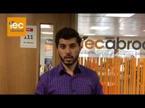 Sulaiman - IEC Abroad Testimonial