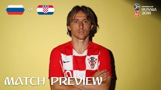 Luka MODRIC (Croatia)  - Match 60 Preview - 2018 FIFA World Cup™