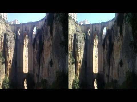 Puente Nuevo. Ronda. 3D HD SBS