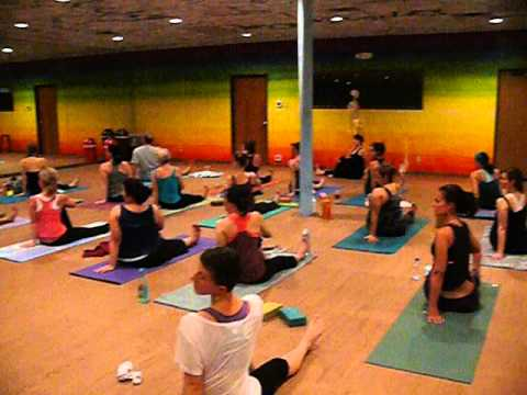 Seated Twist - Master Class with Suze Curtis 4.27.13