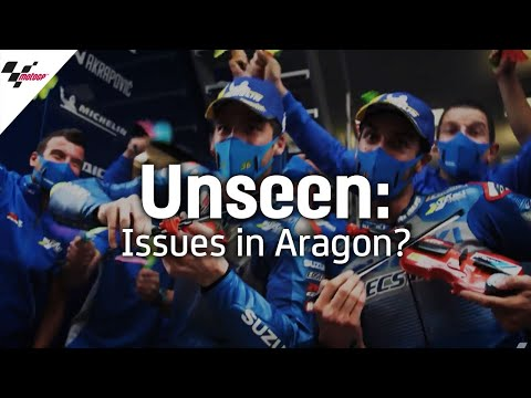 Unseen: Marquez and Mir discuss issues faced in Aragon