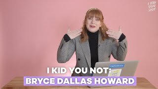 Bryce Dallas Howard Adorably Cries Over Cute, Viral Pet Videos — I Kid You Not