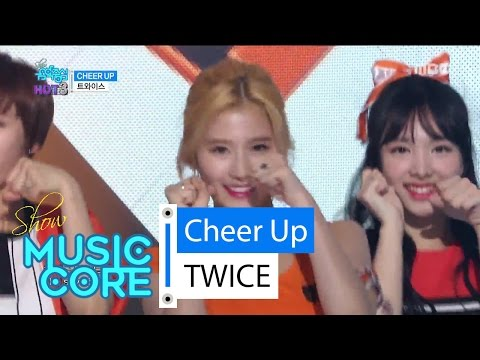 [HOT] TWICE - CHEER UP, 트와이스 - CHEER UP Show Music core 20160514