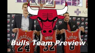 Chicago Bulls - NBA Team Preview 2018-2019 Season