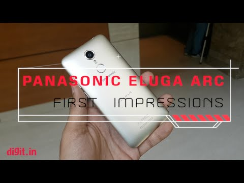Panasonic Eluga Arc First Impressions | Digit.in
