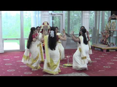 Chicago Kalakshetra Thiruvathira Performance