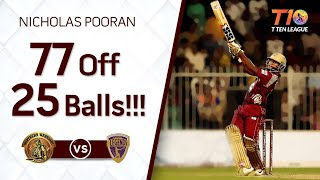 Nicholas Pooran longest sixes!!! 77 off 25 balls!!!