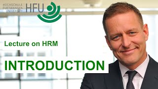 Human Resource Management Lecture Part 01 - Introduction
