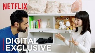 Marie Kondo Sparks Joy with Hasan Minhaj | Tidying Up | Netflix