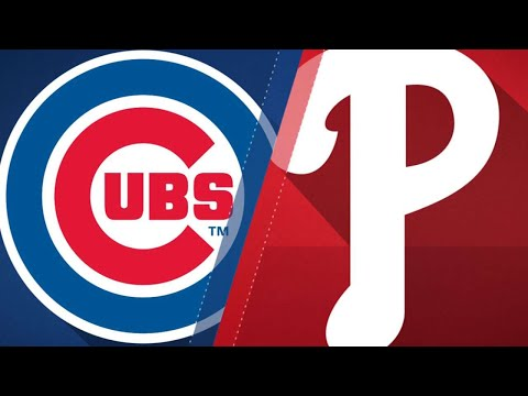 Bryant's return helps Cubs beat Phillies, 7-1: 9/1/18