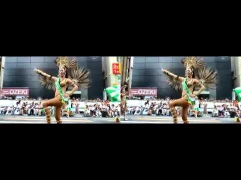 2014 浅草サンバカーニバル3D Sexyダイジェスト (side by side Full)