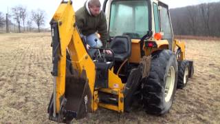 Cub Cadet 7360, 4x4,shuttle shift with cab, loader and backhoe