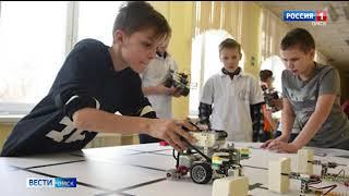 Мобильный «Кванториум» прибыл в школу в селе Новая Шараповка Марьяновского района