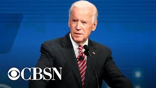 Biden says Trump is vilifying immigrants to score political points