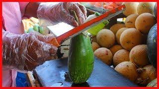 FRUIT NINJA of FRUITS   Amazing Fruits Cutting Skills   Indian Street Food In 2019