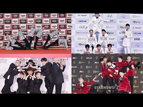 비투비 웃긴 레드카펫 모음 +비하인드 (BTOB Funny Red Carpet Compilation +Behind The Scene)