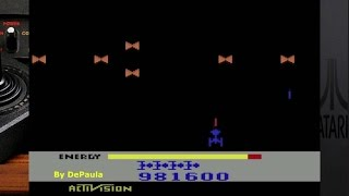 Megamania ATARI 2600 Gameplay 999.999 pts