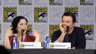 Family Guy panel @ SDCC 2017 (Seth MacFarlane, Alex Borstein)