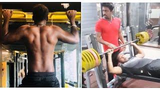 Watch: Singer Rahul Sipligunj GYM workouts..