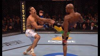 Anderson Silva Top 5 Finishes