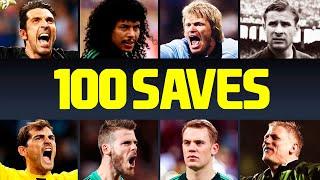 100 Greatest Goalkeeper Saves In Football History