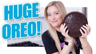 How to make a MASSIVE Oreo Cookie!