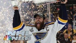 NHL Stanley Cup Final 2019: Alex Pietrangelo, St. Louis Blues hoist Stanley Cup | NBC Sports