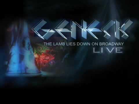 Genesis Lamb Lies Down on Broadway LIVE '75