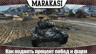 World of Tanks Как поднять процент побед и заработать серебра без напряга