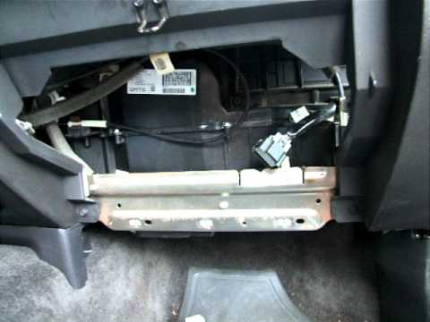2007 Chevy Colorado Blower Fan Resistor And Wiring Harness