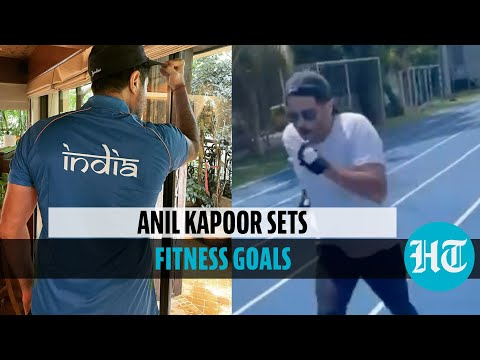 Watch: Anil Kapoor sprints on tracks, cheers India for Tokyo Olympics