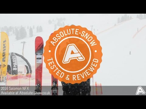 2015 / 2016 | Salomon NFX Ski | Video Review