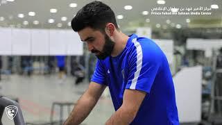 التحضيرات تنطلق .. بالتوفيق يازعيم فيديو_الهلال الهلال ...