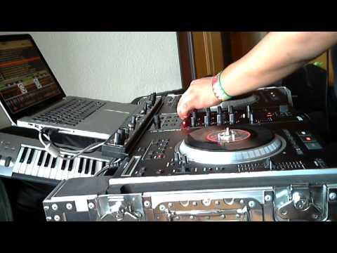 CUMBIA VILLERA  2011 MIX NS7 FX NUMARK  Serato ITCH DJ BALDOMERO