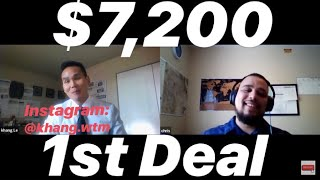 Subscriber First Wholesale Deal Interview #23: He Quit His Job and Went All In- Made $7,200