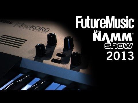 NAMM 2013: Korg KingKORG synthesizer
