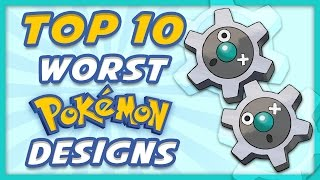 Top 10 WORST Pokemon Designs