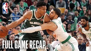 BUCKS vs CELTICS | Giannis TAKES OVER in Beantown | Game 4